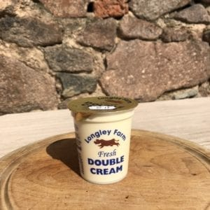 Longley Farm Double Cream (150ml)