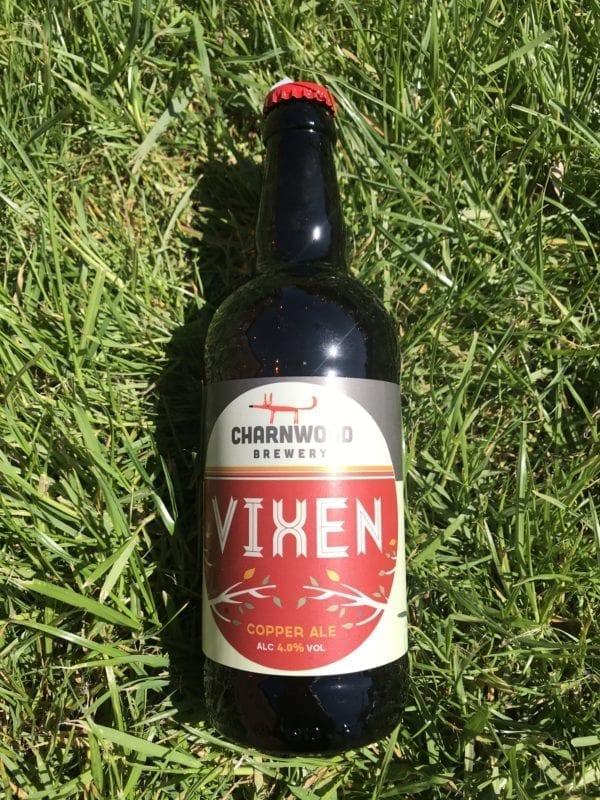 Charnwood Brewary 'Vixen' copper ale 4.9%