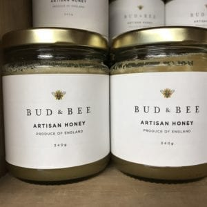 Bud & Bee artisan Honey